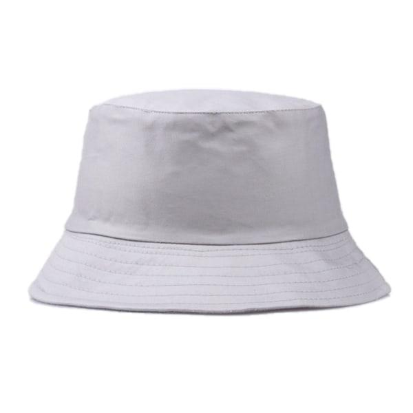 Grå Fiskehatt Bucket Hat Mössa Hatt grå one size