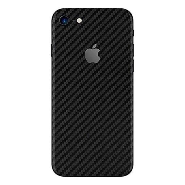 iPhone 7/8 Kolfiber Skin Skyddsplast Baksida transparent
