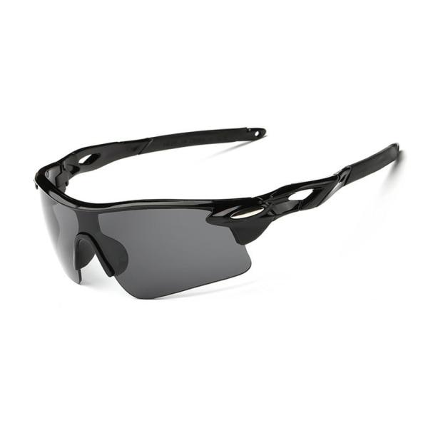 Sport Cykelglasögon - Solglasögon för Cykling (Svart) svart