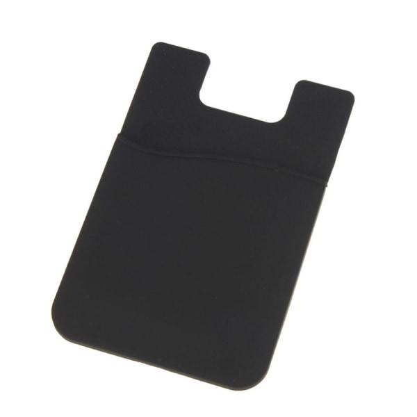 Universal Korthållare för Mobiltelefon Svart (Självhäftande) svart