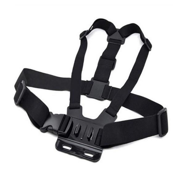 Universalt Bröstfäste Bröstsele Gopro Actionkamera Kamera POV svart