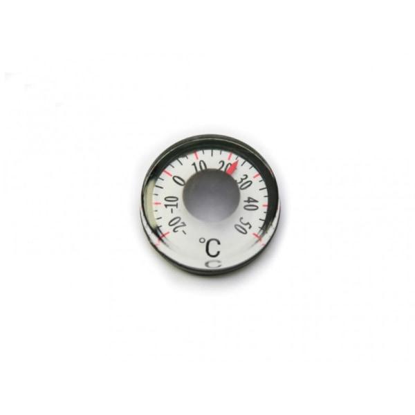 1 st minitermometer, endast 15 mm i diameter, termometer