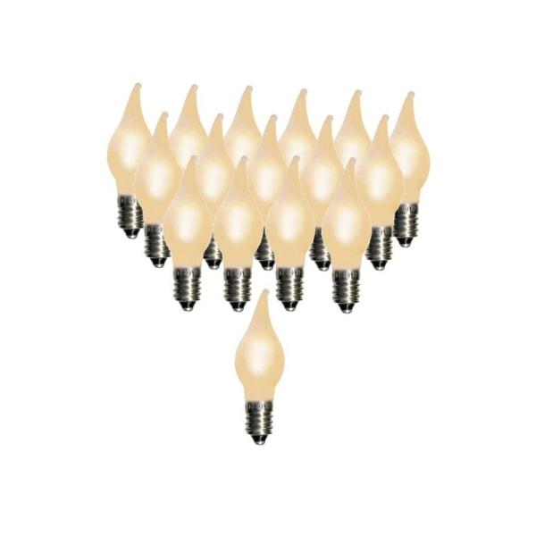 16 st LED-lampor till Julgransbelysningar Elsnåla E10