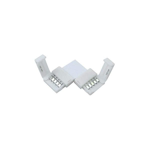 1st LED-skarv L, 2-vägs för 5-polig flat LED-slinga 12mm RGBW