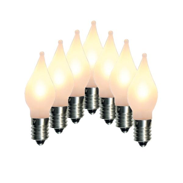 21st (3*7) LED-lampor till Adventsljusstake Elsnåla E10