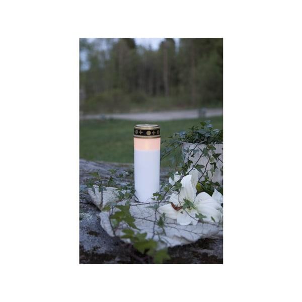 2st 21cm LED vackert Gravljus Serene med TIMER, 80 DAGAR