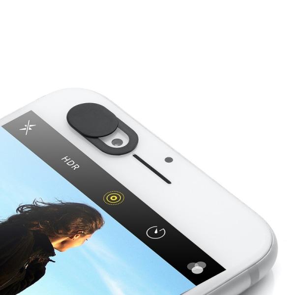 3-pack Gör dig privat med ett Linsskydd för mobil och dator