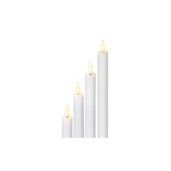 4-pack LED Adventsljus Antikljus Flamme för Adventsstake mm