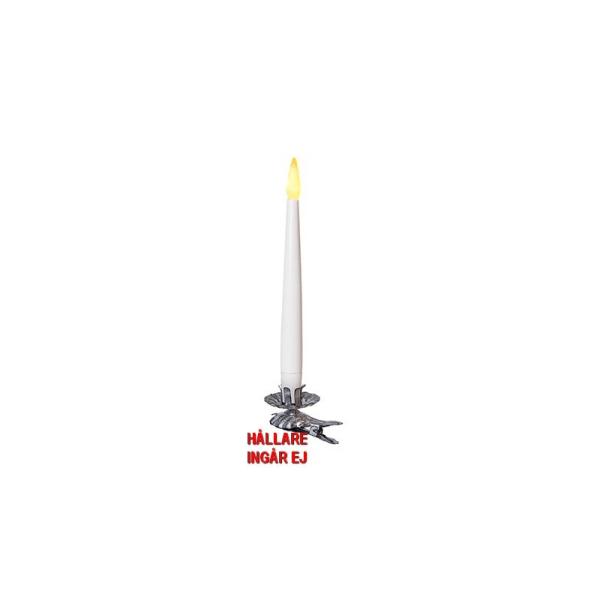 4st SMÅ batteri-antikljus-julgransljus m vackert flimrande låg