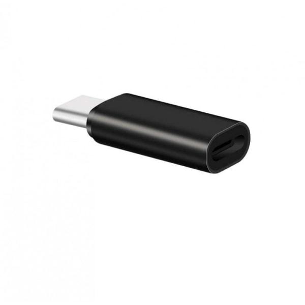 Adapterkontakt iphone lightning (hona) till USB-C (hane)