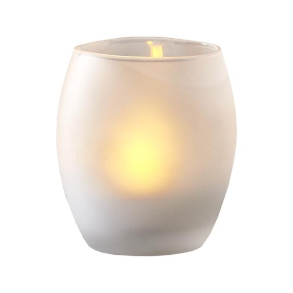 LED-ljus-lykta Frost med Timer