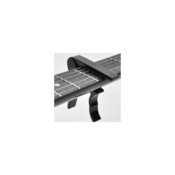 Musikset med Capo och Gitarrstämmare, tuner