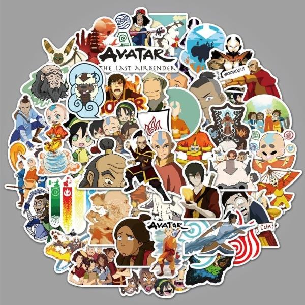 Klistermärken / Stickers Anime Japan 50 Pack