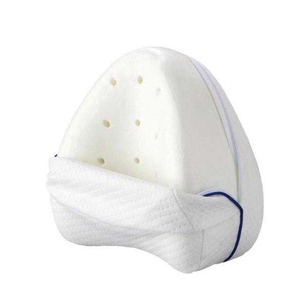 Ortopedisk ergonomisk benkudde i memory foam Vit