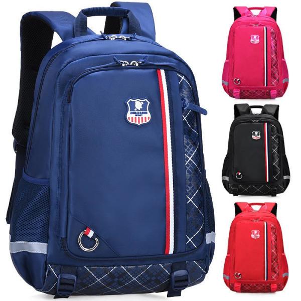 Skolväskor Vattentäta skolryggsäckar för tonåringar Flickor Barn Stark rosa