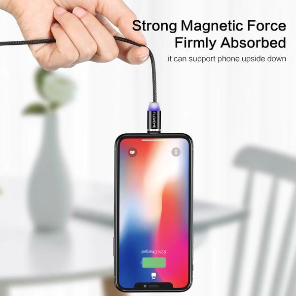 1m  magnet laddare för iphone