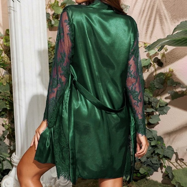 Silkeslen  Badrock Nattklänning