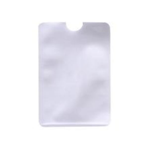 15st Skydda dina kredit- och bankkort från skimming RFID-skydd silver 9.1x6.3cm / 3.58x2.48 '' (ca)