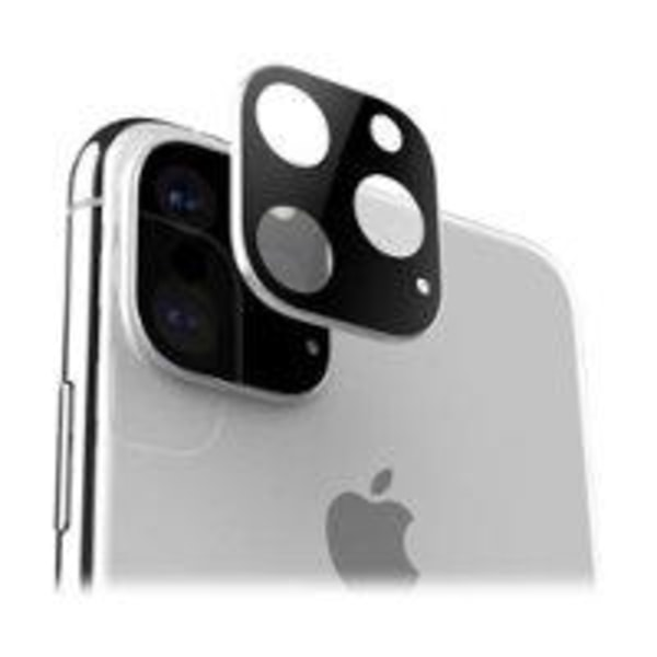 2st iPhone 11 Pro Max - Linsskydd - Härdat Glas svart