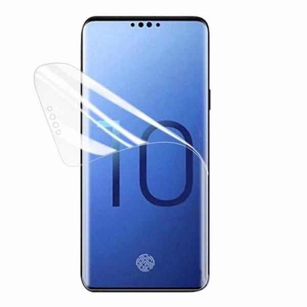 2st Samsung S10 Heltäckande Skärmskydd l PLAST l SOFT transparent