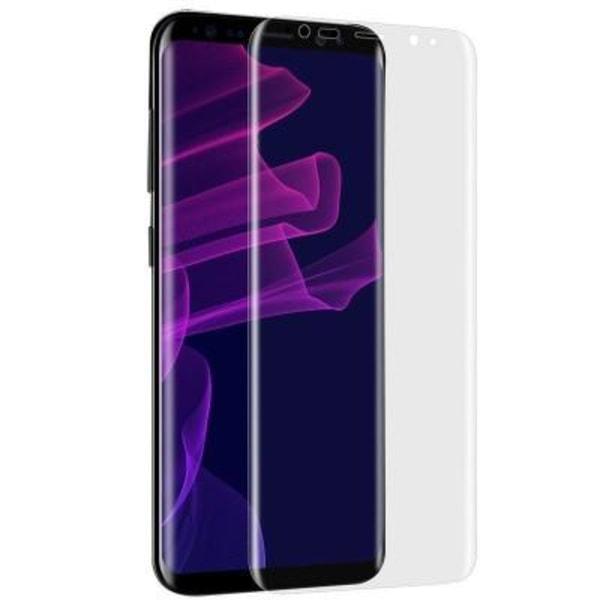 3ST Samsung S8 Heltäckande Skärmskydd l Plast l Soft transparent