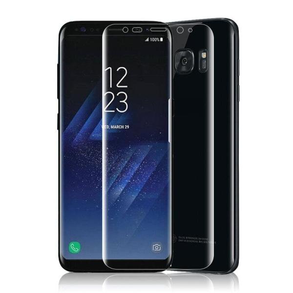 2st Samsung S8 Plus Heltäckande Skärmskydd l Plast l SOFT transparent