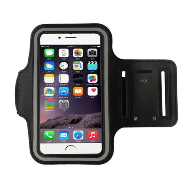 iPhone 5C Sportarmband Träningsarmband  svart