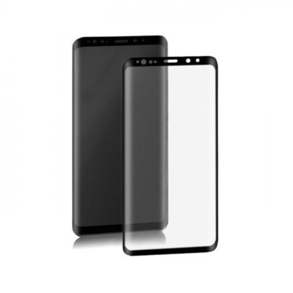 Samsung S8 Plus Heltäckande Skärmskydd l PLAST l SOFT l SVART svart