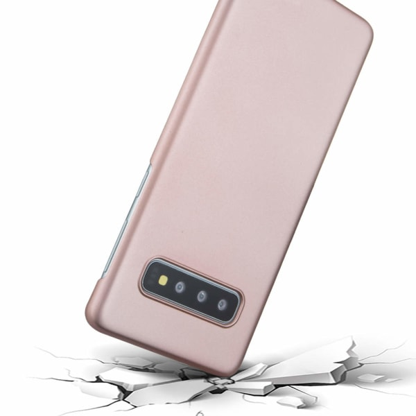 Galaxy S10 Plus - Hårdplast skal - Mycket tunt & slitstarkt Rosa