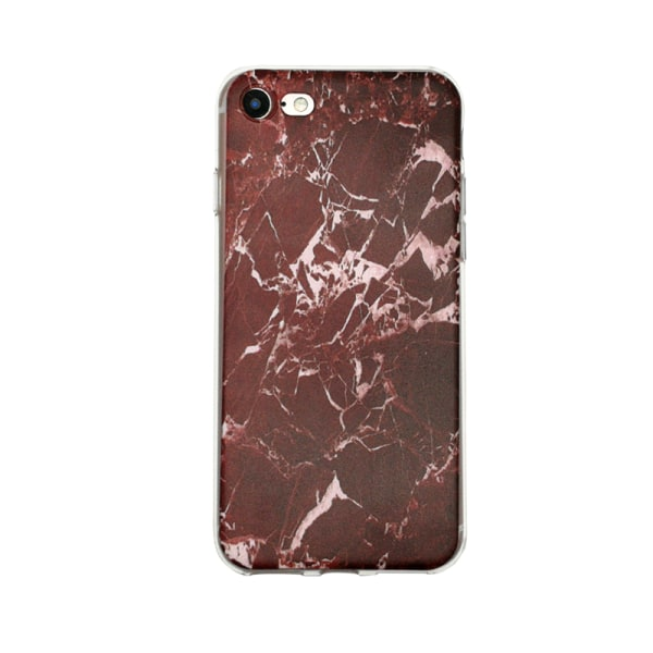 iPhone 5/5S/SE - Skal 6. Red marble