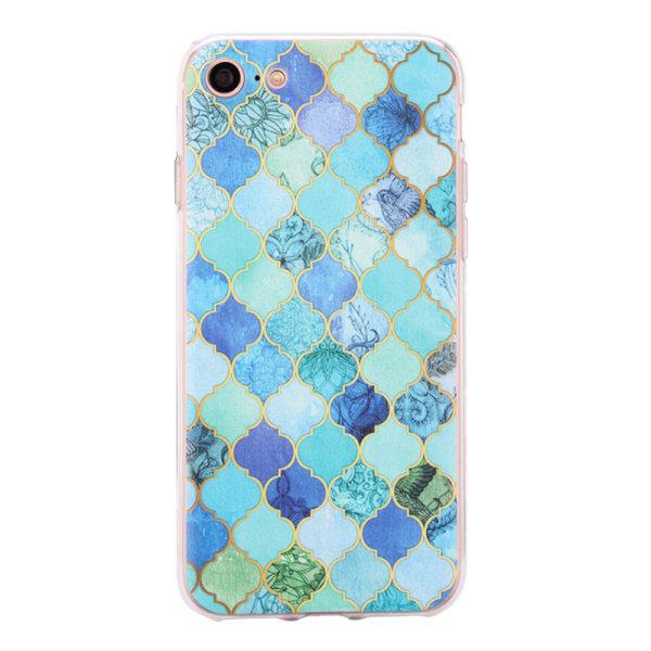 iPhone 7 - Skal 1. Blue mosaic