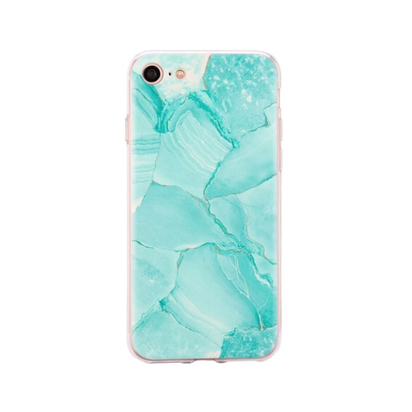 iPhone 8 - Skal 4. Green marble