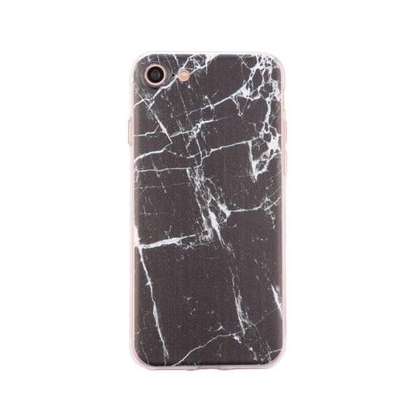 iPhone 8 - Skal 9. Black/white marble