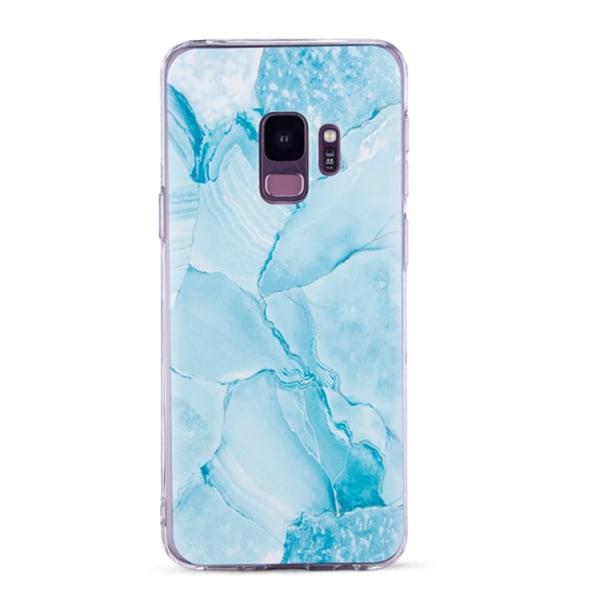 Samsung Galaxy S9 - Skal 1. Blue mosaic