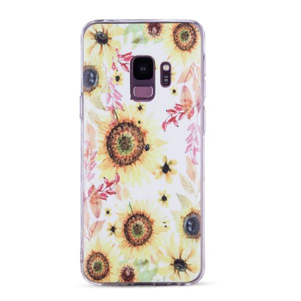 Samsung Galaxy S9 - Skal 1. White marble