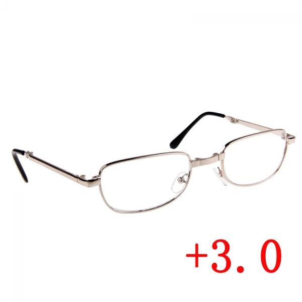 + 1 / + 1,5 / +2 /+2,5/ +3 Vikbart hängande läsglas 3