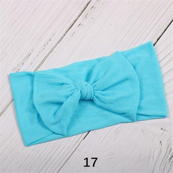 Baby Girl Headband  Bowknot Hairband  Nylon Hair Band 17 17