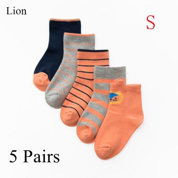 Children's socks Ankle sock Cotton LION-S Lion-S
