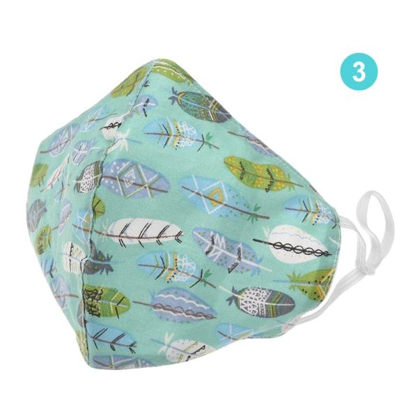 Cotton Mask Washable Reusable 3 3