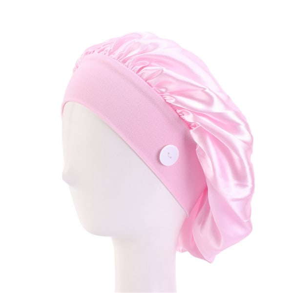 Doctor Hat Nurse Cap With Button PINK pink