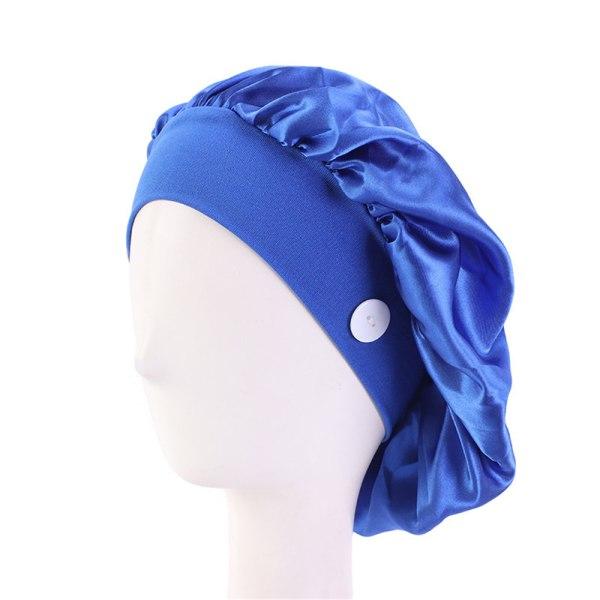 Doctor Hat Nurse Cap With Button SAPPHIRE BLUE sapphire blue