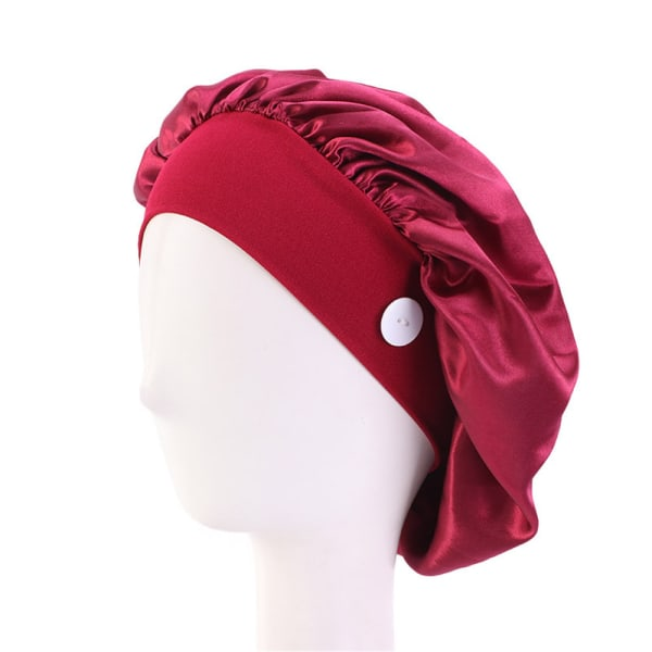 Doctor Hat Nurse Cap With Button WINE RED wine red