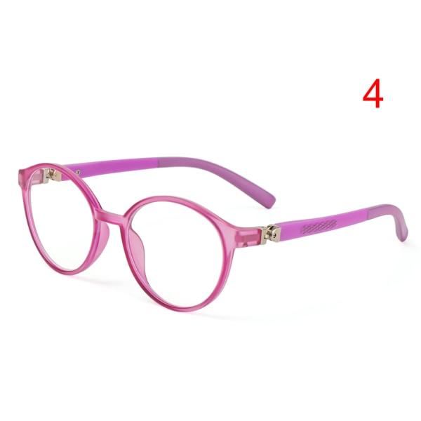 Kids Glasses Anti-blue Light Eyeglasses Ultra Light Frame 4 4