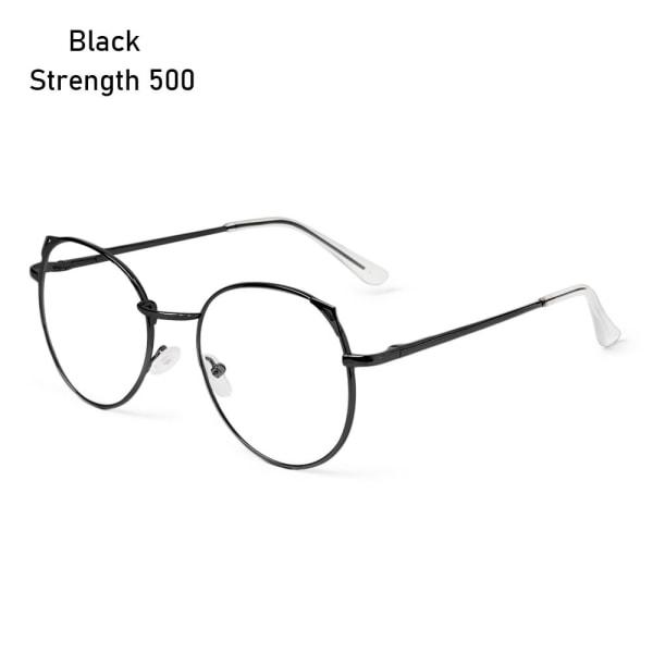Myopi Glasögon Glasögon SVART STYRKA 500 black Strength 500