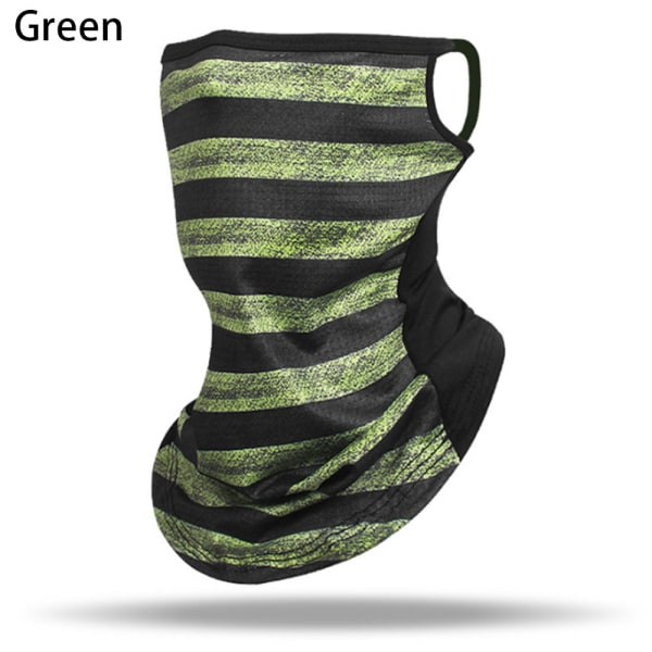 Neck Cover Scarf Wrap Face Covering GREEN green