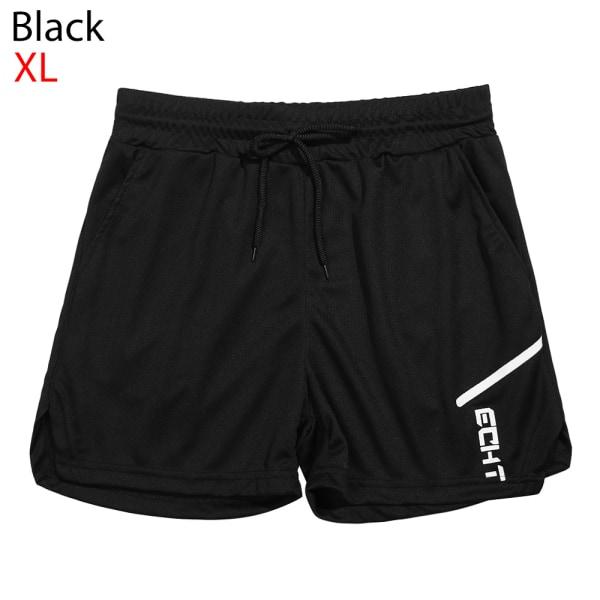 Running Shorts Jogging Pants Beach Shorts BLACK XL black XL