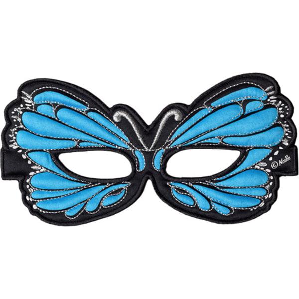 Ansiktsmask - blå fjäril Blå