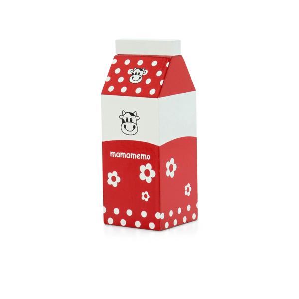 Leksaksmat i trä - Mjölk