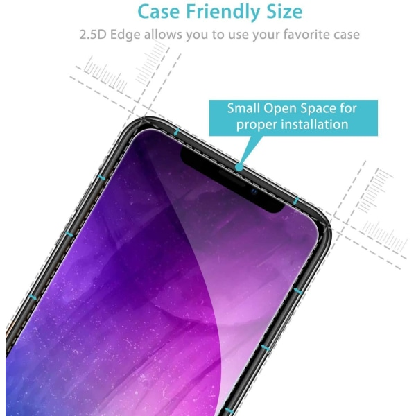 3-pack C4U® Extra Stark Härdat Glas Skärmskydd iPhone 11 Pro Max