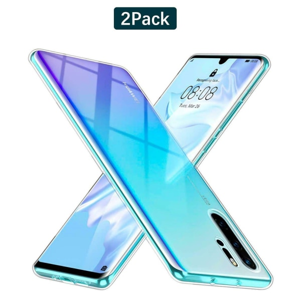 C4U® 2-Pack Huawei P30 Pro TPU Protection - Slimmat skal